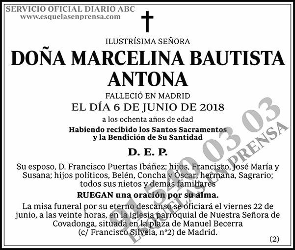 Marcelina Bautista Antona